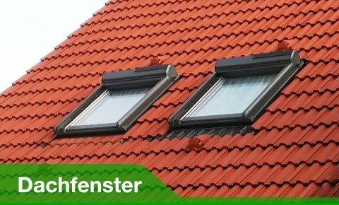 Zu Dachfenstern und Aussenrollos