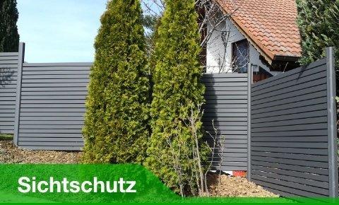 Zu Sichtschutzzäunen, Gartenzäune