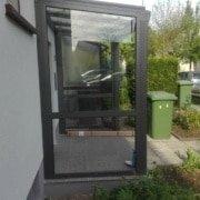 Vordach Haustuerueberdachung Windschutz Rs Reich 07