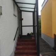 Vordach Haustuerueberdachung Windschutz Rs Reich 13