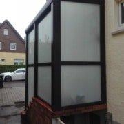Vordach Haustuerueberdachung Windschutz Rs Reich 15