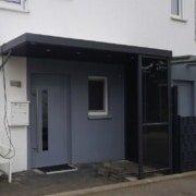 Vordach Haustuerueberdachung Windschutz Rs Reich 18
