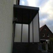 Vordach Haustuerueberdachung Windschutz Rs Reich 19