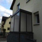 Vordach Haustuerueberdachung Windschutz Rs Reich 20