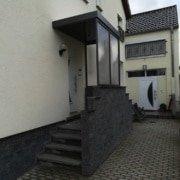 Vordach Haustuerueberdachung Windschutz Rs Reich 21