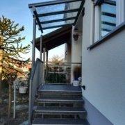 Vordach Haustuerueberdachung Windschutz Rs Reich 24