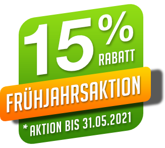 15 Prozent Banner Rs Reich 2021